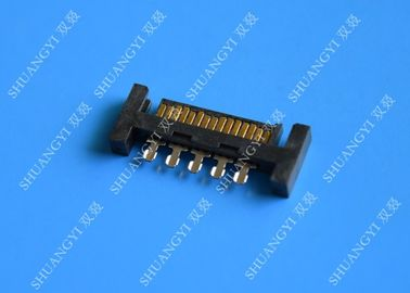 Chiny PCB Slimline SATA Connector Voltage 125V AC Small Footprint Design dostawca