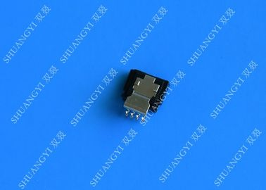 Straight Micro External SATA 7 Pin Connector Solder Type 180 Degree DIP