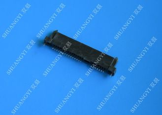 Chiny Black PCB Wire To Board Connectors , 22 Pin Jst Crimp Type Connector dostawca