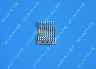 Custom Stamping Copper Brass Wire Crimp Terminals Lugs For Electrical PCB