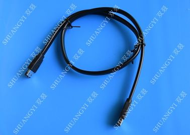 ESATA 300 6 Gbps External SATA Cable , High Speed Shielded SATA Serial ATA Cable